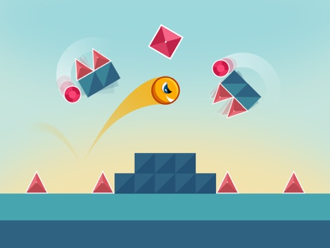 Screenshot #1 for Jumping Genius - Hyper Monster Rush & Swiper Shape Mobile Game