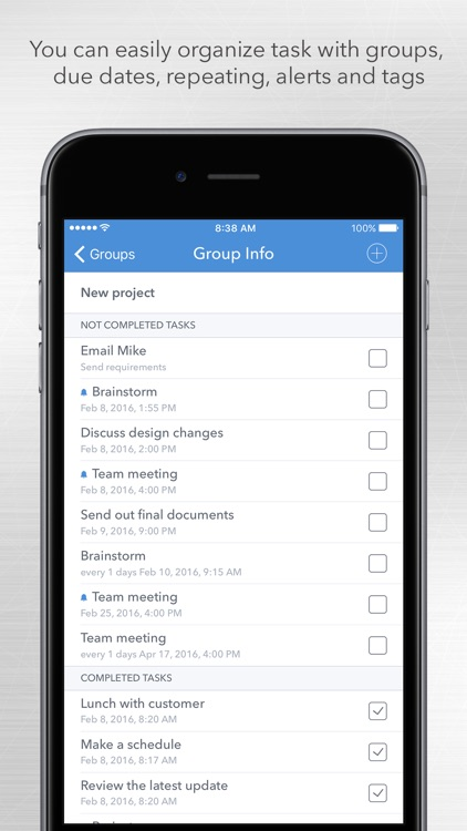 GTD Office - to-do list and tasks organizer