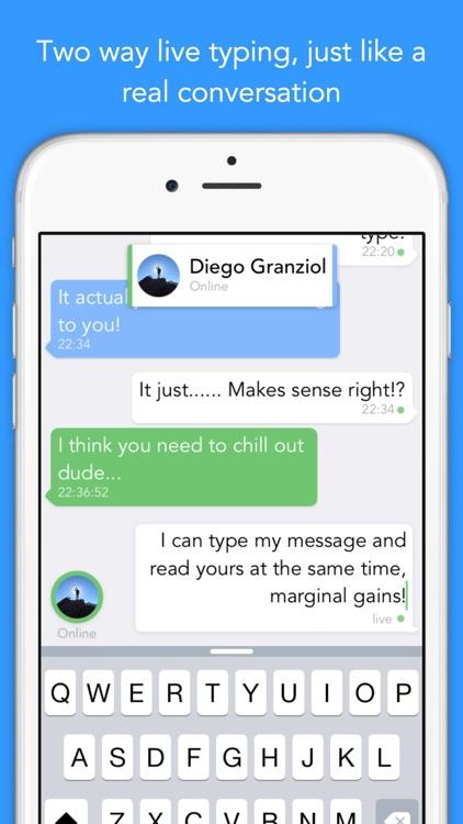 Bolt - Real time live messaging screenshot-3