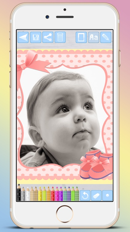 Photo frames for babies and kids for your album - Premium