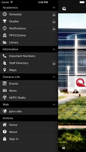 Ppcc Campus Map.Ppcc Mobile On The App Store