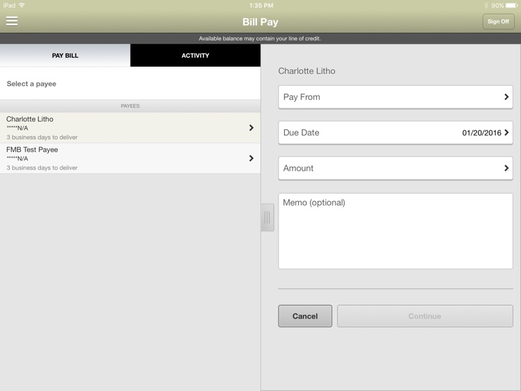 Eaton Federal Savings for iPad screenshot-3