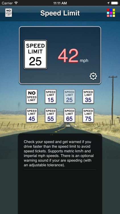 Speed Limit App screenshot-2