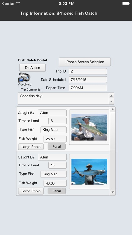 Fishermans Logbook Pro DB screenshot-3