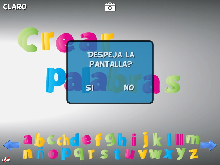 Magnetic Letters Spanish