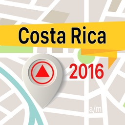 Costa Rica Offline Map Navigator and Guide