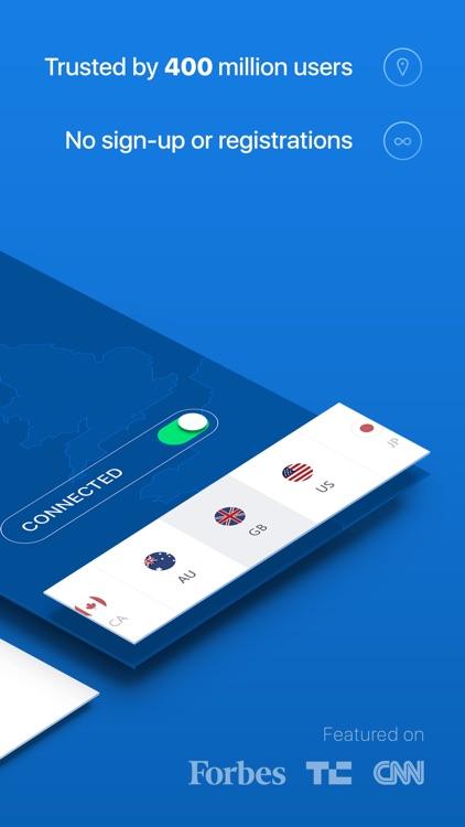 Hotspot Shield Free VPN Proxy & Wi-Fi Privacy app image