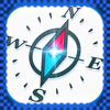 Compass Free-East,West,South,North