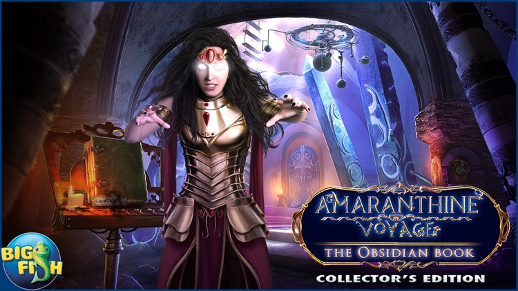 Amaranthine Voyage: The Obsidian Book - A Hidden Object Adventure (Full) screenshot-4