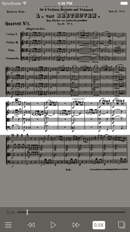 Beethoven All String Quartets screenshot-1