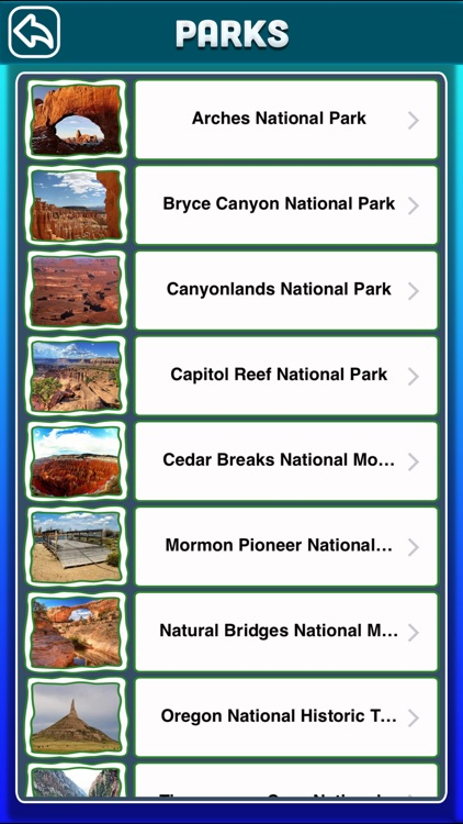 Utah National & State Parks screenshot-2