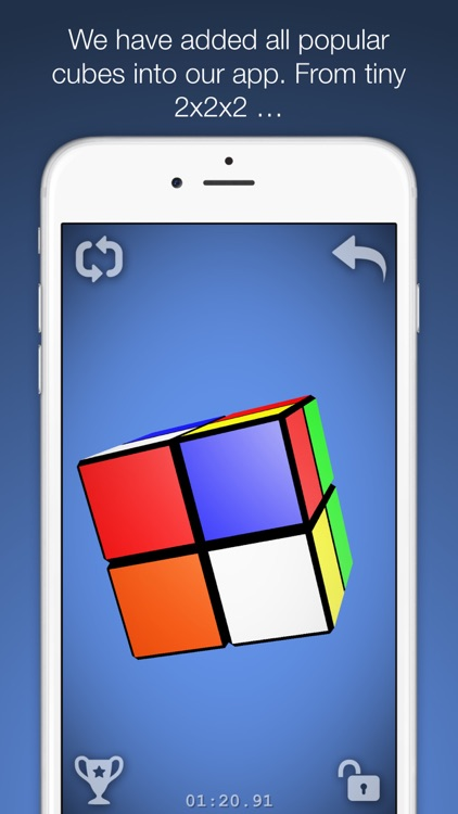 Magic Cube Puzzle 3D screenshot-2