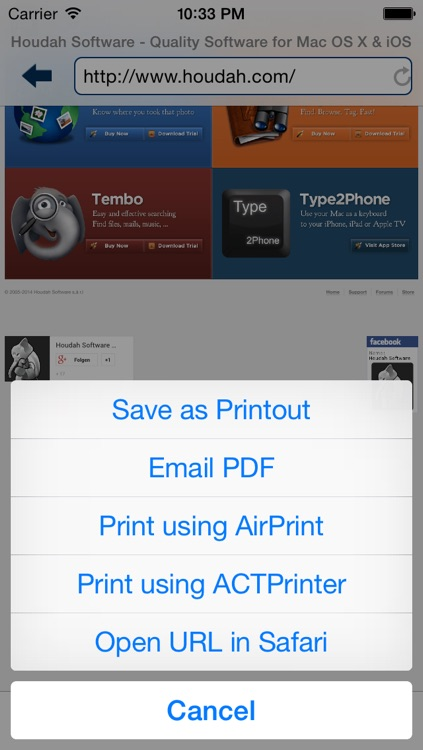 ACTPrinter - Virtual Printer screenshot-3