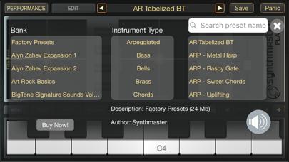SynthMaster Player Screenshots