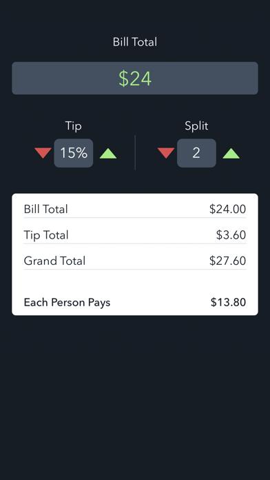 BillTipper - Calculate Bill Tip and Split Amounts-0