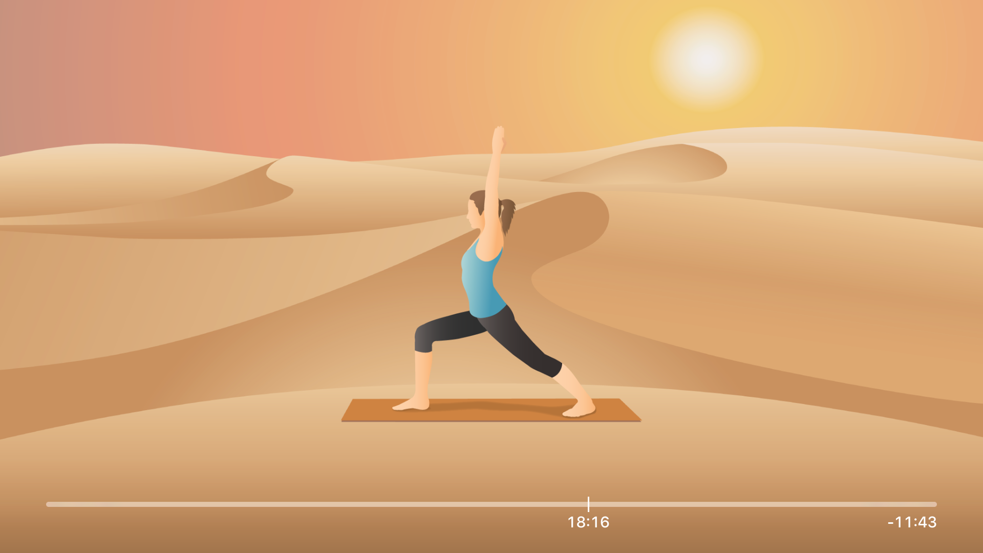 Pocket Yoga for TV screenshot 3