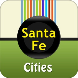 Santa Fe City Map Guide