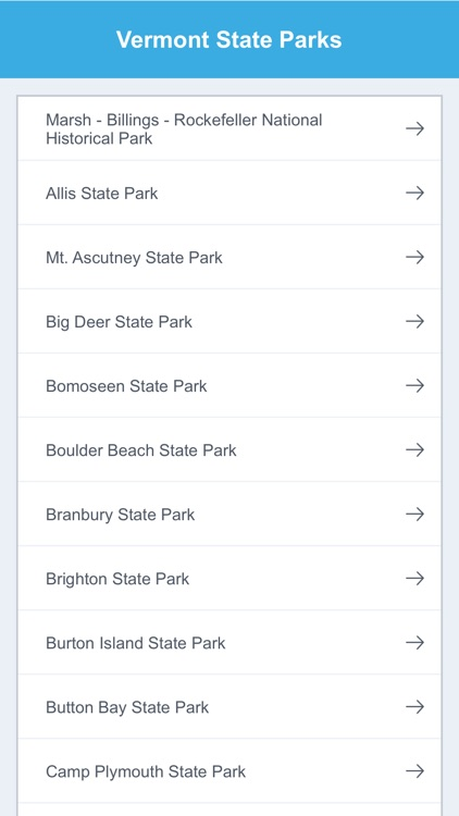 Vermont State Parks & National Parks screenshot-1