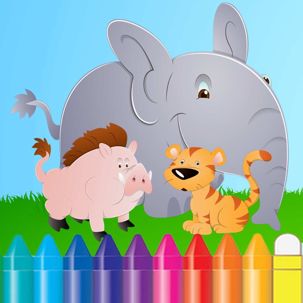 Animal Coloring Book for Kids and Preschool Toddler who Love Cute Pet Games for Free hack