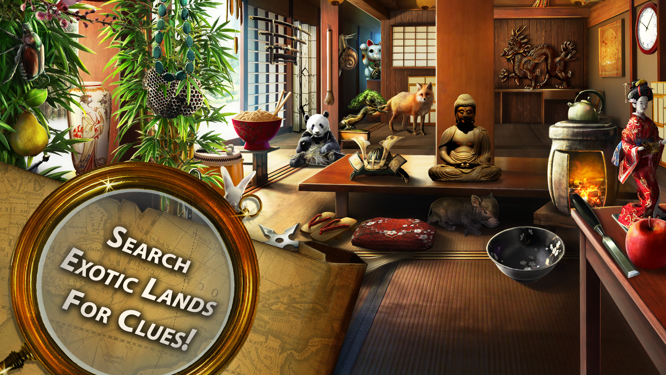 Secret Passages: Hidden Objects Screenshot