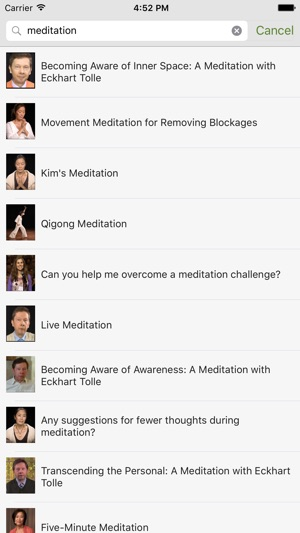 Eckhart Tolle Now On The App Store