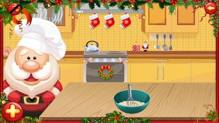 Santa Cake Salon screenshot-3
