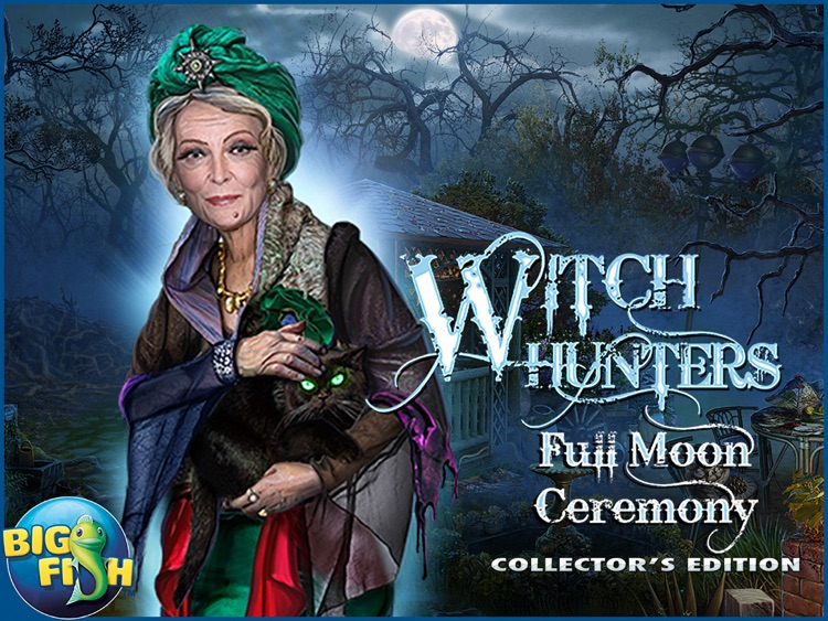 Witch Hunters: Full Moon Ceremony HD - A Mystery Hidden Object Story (Full) screenshot-3