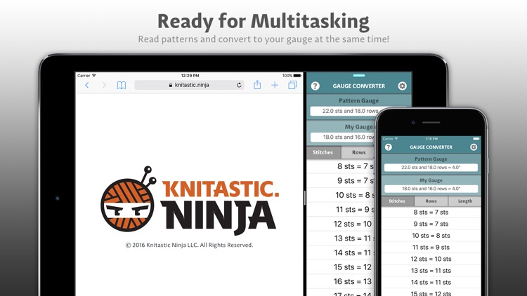 Gauge Converter by Knitastic Ninja screenshot-4