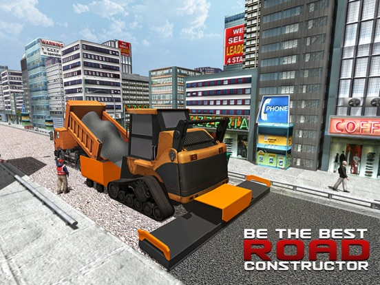 city road builder 2016 heavy construction cranes simulation game