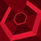 Super Hexagon sees you twitching rapidly to rotate your triangle through a swirling maze of geometric action