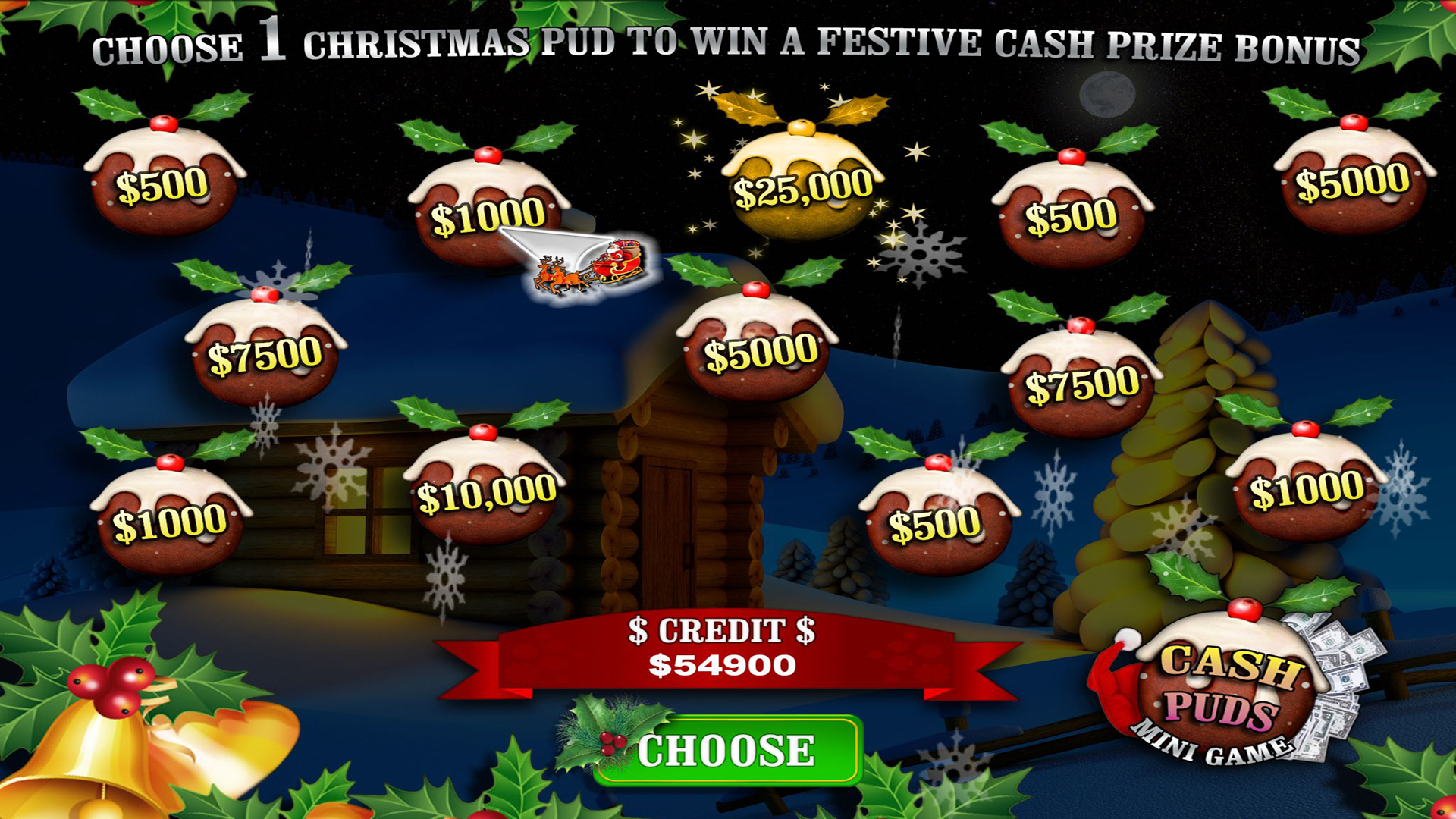 Snow Slots Merry Christmas TV screenshot 5