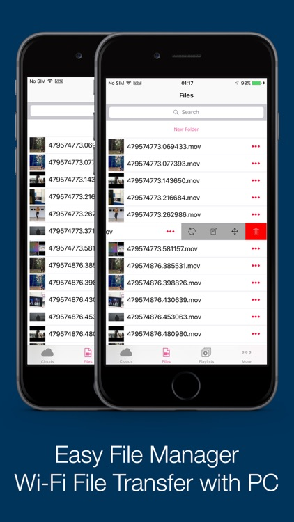 vFile - Video Player & File Manager for Clouds