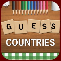Guess Countries - Best Free Country Names Guessing Word Search Puzzle Game