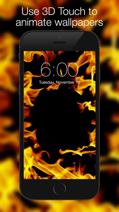 Screenshot for Live Wallpapers - Custom Backgrounds and Themes in Jordan App Store