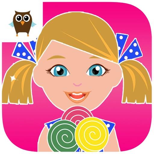 Candy Treasures - Candy Maker, Dress Up & Matching Fun
