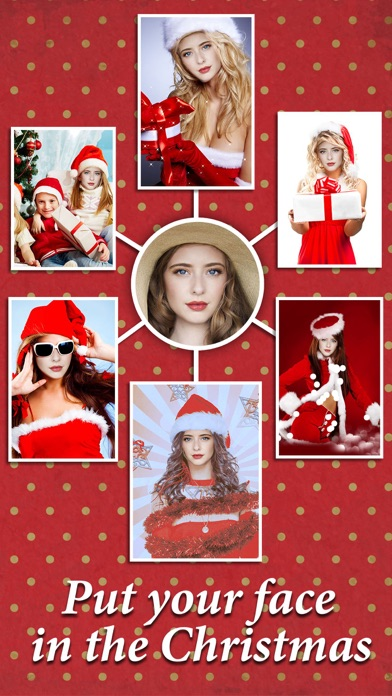 Xmas Face Montage Effects - Change Yr Face with Dozens of Elf & Santa Claus Looks screenshot two