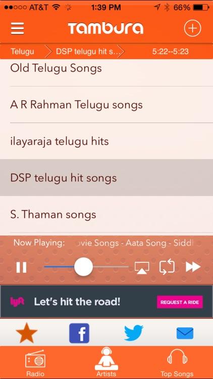 Tambura Radio - Telugu, Tamil, Hindi & Punjabi Indian radio screenshot-4