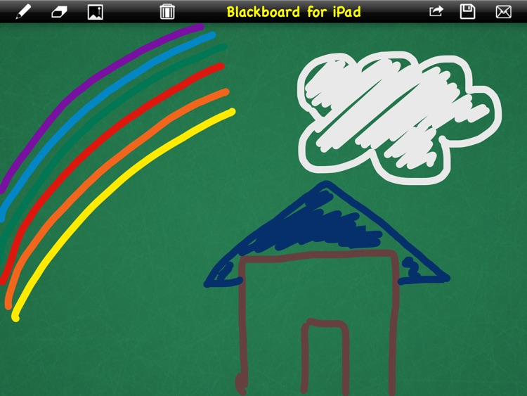 Blackboard to write or draw for iPad
