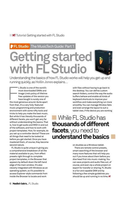 Music Tech Guide to... FL Studio screenshot-3