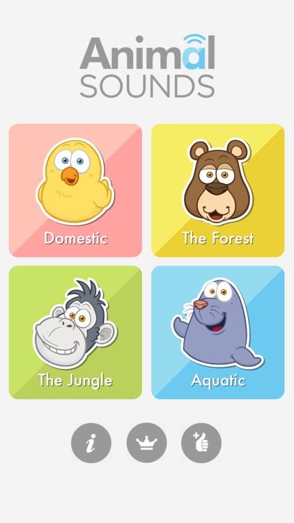 The Animal Sounds for Kids screenshot-3