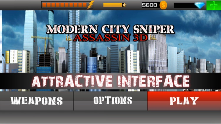 Modern City Sniper Assassin 3D : Bravo Sniper Gangster Shooter - Free HD 2016 screenshot-3