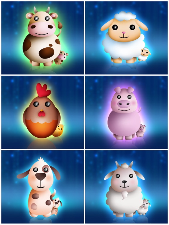 Baby night tales HD : stories and night lights for toddlers screenshot-4