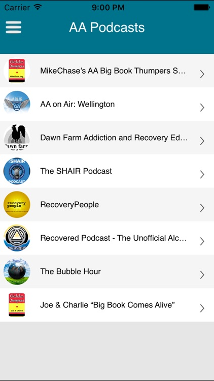 AA Podcasts - Alcoholics Anonymous