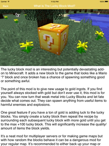 the lucky block mod