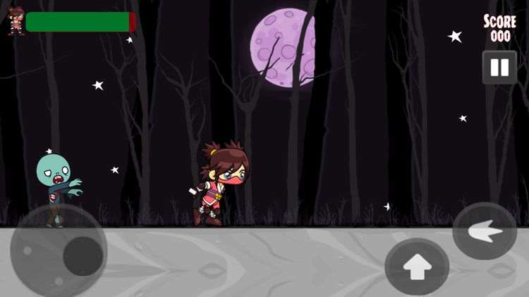Zombies Vs Ninja Game screenshot-2