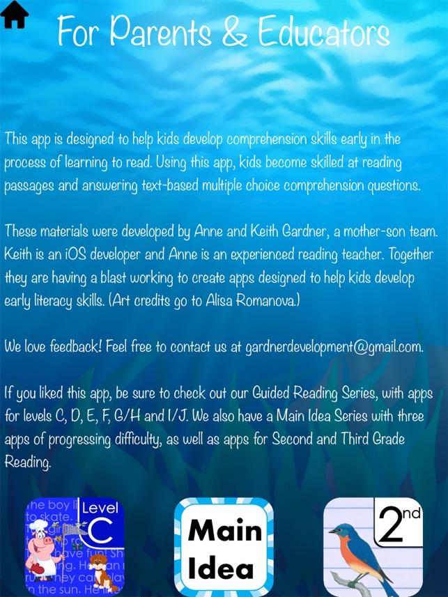 Kindergarten Reading On The App Store