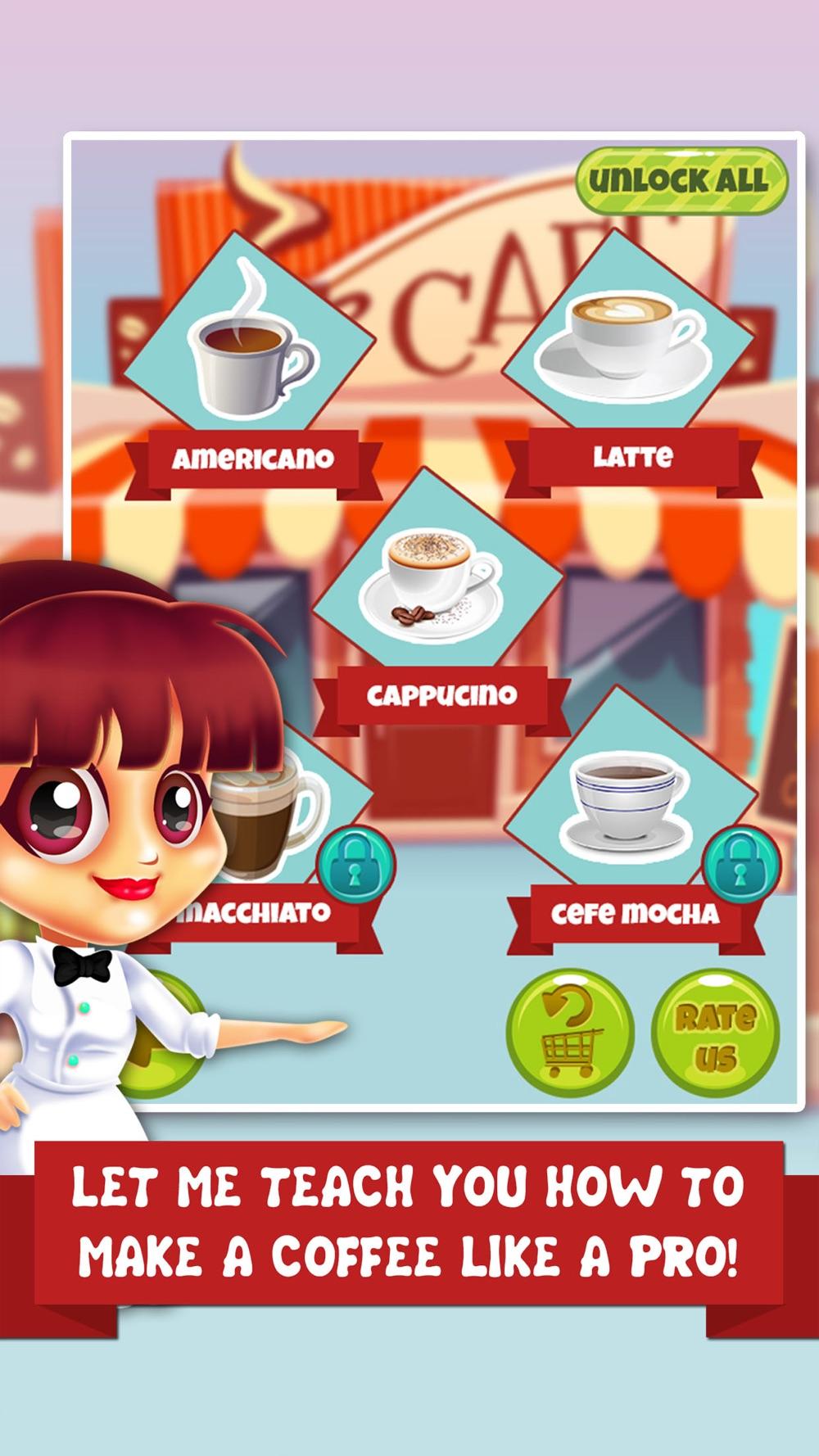 Coffee Dessert Making Salon - food maker games & candy ice cream make for kids! hack tool