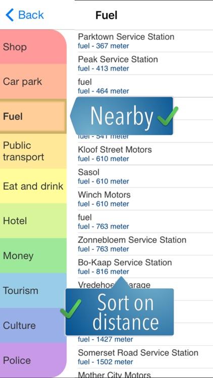 South Africa Travelmapp screenshot-4