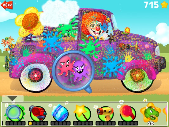 Amazing Car and Truck Wash - The free funny cars cleaning game for little kids and toddlers lite-ipad-3
