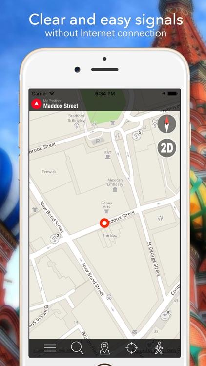 Iraq Offline Map Navigator and Guide screenshot-4